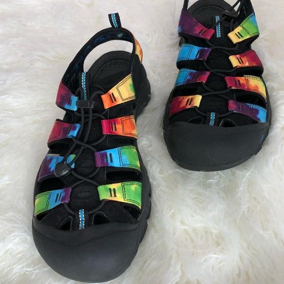 ac2300292934 Keen Other - Keen Newport Retro Tie Dye Sandal M 13
